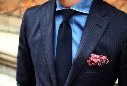 πως διπλώνεται το μαντήλι στο κοστούμι