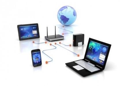 στο wifi η σύνδεση γίνεται ασύρματα