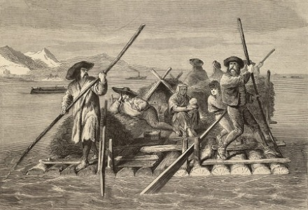 τα πρώτα πλοία ήταν ξύλινα