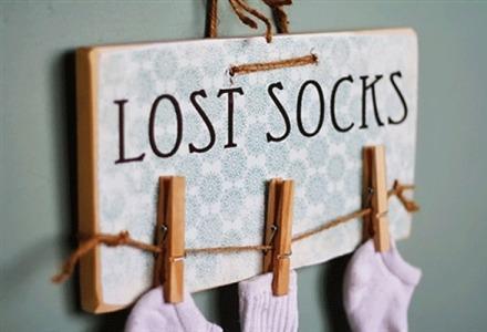 που χάνονται οι κάλτσες στο πλυντήριο