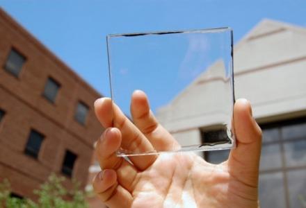το γυαλί είναι διαφανές λόγω της δομής του