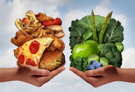 περιορίστε το junk food