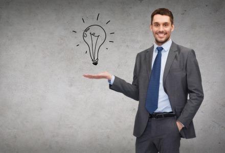 μια ιδέα μπορεί να σας κάνει πλούσιους