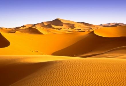 θερμή έρημος