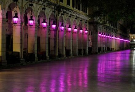Το εντυπωσιακό Λιστόν με τα μωβ φώτα