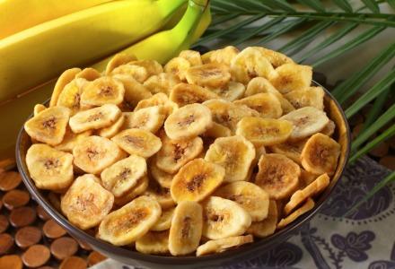 τα τσιπς μπανάνας είναι διατροφικές βόμβες