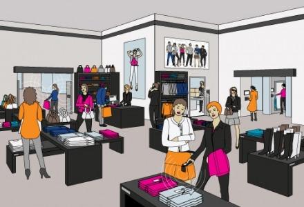 rfid σε καταστήματα ρούχων