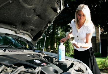 έλεγχος υγρών αυτοκινήτου