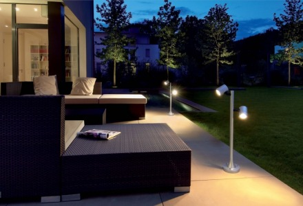 αφήστε αναμμένα τα φώτα για προστασία από κλέφτες