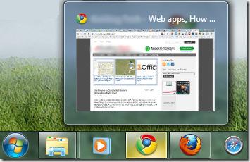 Windows 7 taskbar συντόμευση