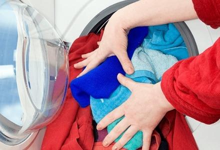 μην παραγεμίζετε το πλυντήριο