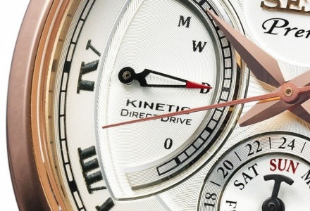 τα seiko kinetic είναι συνδυασμός αυτόματου και quartz