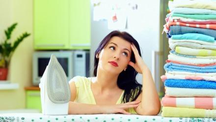 συμβουλές για εύκολο σιδέρωμα