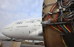 Boeing 747 καλώδια