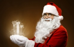 Άγιος Βασίλης κόκκινα ρούχα